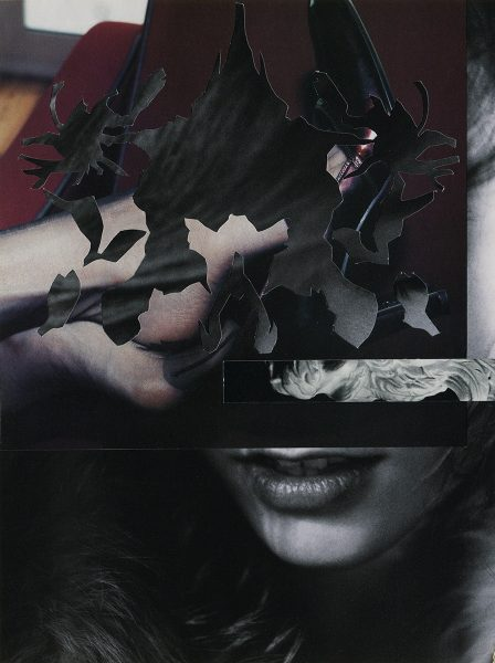 Barbara Breitenfellner, WVZ 592, 2019, Collage