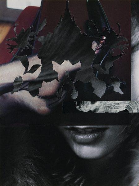 Barbara Breitenfellner, WVZ 592, 2019, Collage