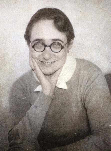 Gabriele Tergit 1926, Foto: Jens Brüning, Schöffling & Co.